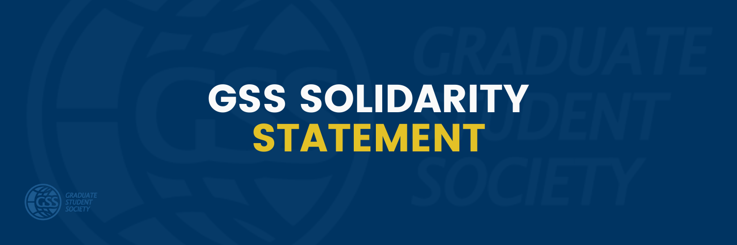 GSS Solidarity Statement