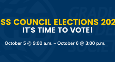 GSS Council Elections 2020 Time to Vote Blog Post